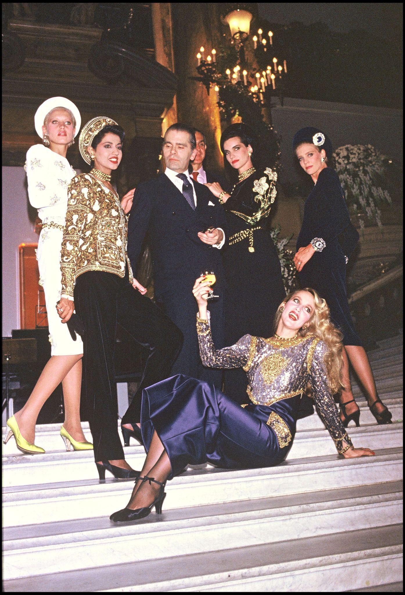 Karl Lagerfeld 1985